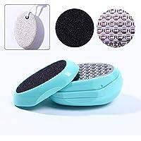 OOSM&H Pediküre Fuß Eiförmige Fußfeile Scrubber Dead Raue Haut Callus Remover Mit Bimssteinfuß preisvergleich bei billige-tabletten.eu