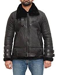 1e88d4aaf Amazon.co.uk: A to Z Leather - Coats & Jackets / Men: Clothing
