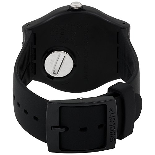 Swatch Unisex-Armbanduhr Dark Rebel Analog Quarz Plastik SUOB704 - 3
