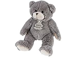 Histoire d Ours - Peluche Calin Ours Taupe - 25 cm