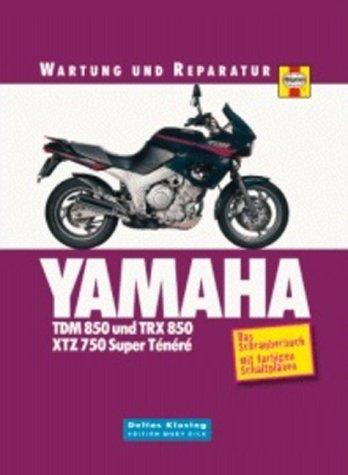 Yamaha TDM/TRX 850 & XTZ 750 Super Ténéré. Wartung und Reparatur