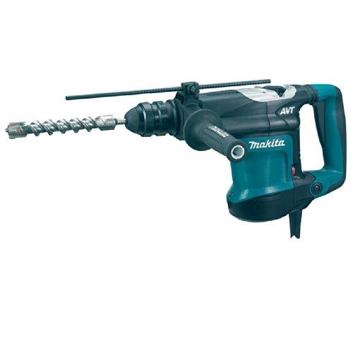 Makita HR3210FCT 110V SDS Plus Rotary Hammer mit Schnellwechselfutter und Adapter -
