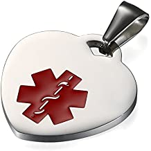 9a9e196e6a1c Flongo Placa Alerta Medica Cruz roja