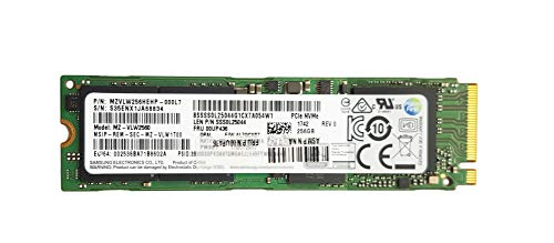 Price comparison product image Lenovo Samsung 256GB NVMe m.2 Solid State Drive MZVLW256HEHP-000L7 SSS0L25044