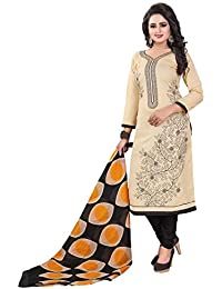 Om Tex Creation Women's Pure Cotton Printed Dress Material For Women With Cotton Dupatta Unstitched