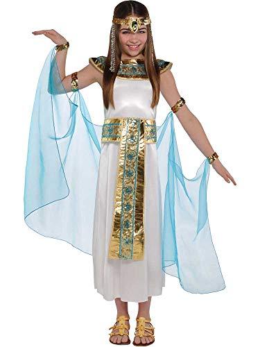 Cleopatra Kostüm für Mädchen, ägyptische Königin, Buchwoche, -