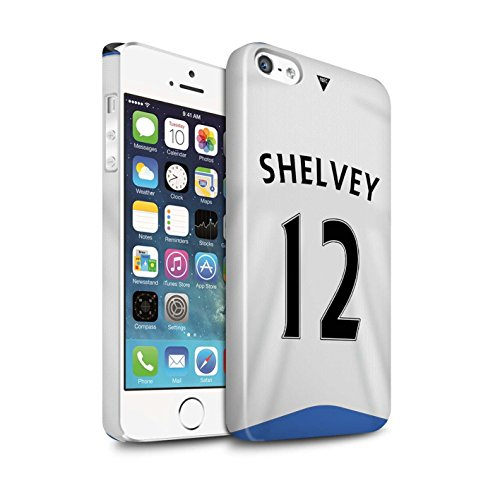 Offiziell Newcastle United FC Hülle / Glanz Snap-On Case für Apple iPhone SE / Elliot Muster / NUFC Trikot Home 15/16 Kollektion Shelvey
