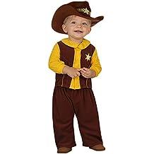 Atosa 23747 - vaquero traje, tamaño 0-6 meses, marrón