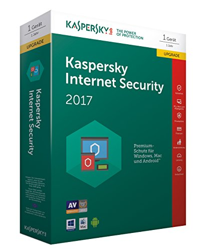 Kaspersky Internet Security 2017 Upgrade - [Code in Box]