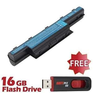 Battpit Batterie d'ordinateur Portable de Remplacement pour Acer Aspire 5749Z (6600mah / 71wh) Avec Clé USB 16 Go GRATUIT