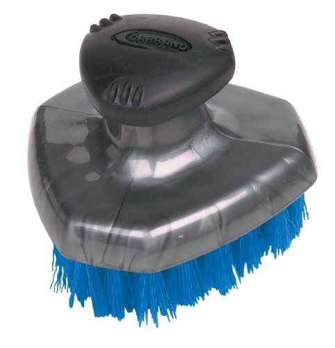 Carrand 92014 Grip Tech Deluxe Tire Brush with Flow-Thru Pole Thread by Carrand