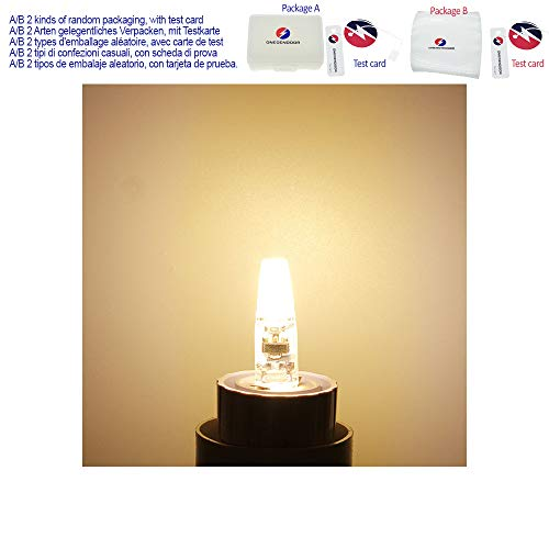 1 stücke Mini G4 LED COB Lampe 3 Watt 6 Watt Lampe AC DC 12 V 220 V Kerze Silikon Lichter Ersetzen 20 Watt 30 Watt 40 Watt Halogen für Kronleuchter Scheinwerfer,Warm White,6W DC 12V -