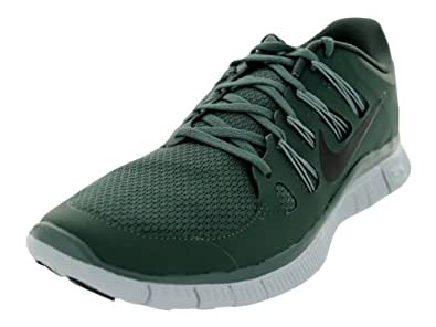 Nike Men s Free 5.0 Running Shoe Dark Mc Green / Black / Mc Green / Pr Platinum 11 D(M) US