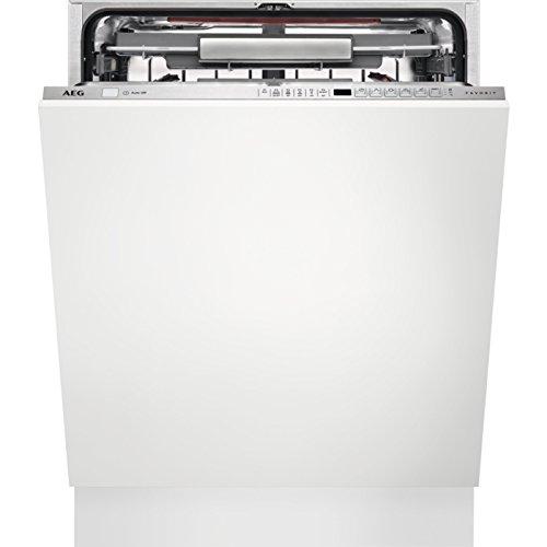 AEG FSE63800P vollintegrierbarer Geschirrspüler/A+++ (234 kWh pro Jahr)/Edelstahl/XXL-Innenraum/Comfort Lift/herausnehmbare Besteckschublade