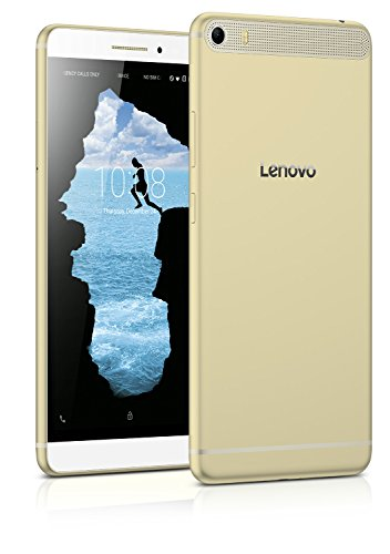 Lenovo PHAB Plus (6.8 inch, 32GB, Wi-Fi+ LTE with Voice Calling), Honey Gold