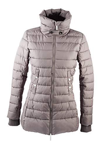 PFIFF Damen Winter-Angourie-Steppjacke Jacke, grau, M