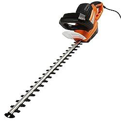 TIMBERTECH Elektrische Heckenschere 710W 240 V Rasenschere Rasentrimmer Strauchschere