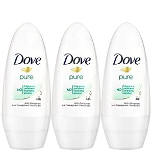 Dove Déodorant Femme Bille Anti Transpirant Pure 50ml