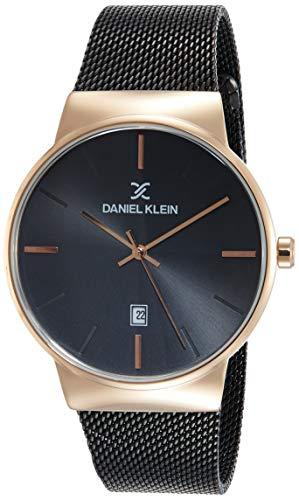 Daniel Klein Analog Black Dial Men's Watch-DK11853-4
