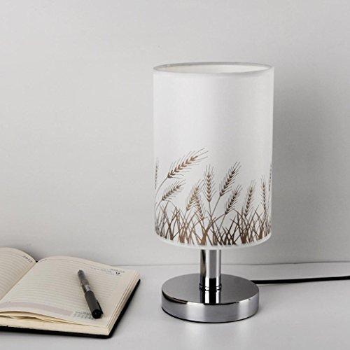 Lesen beleuchtete Tischlampe,Einfach Tischlampe Nachtlicht Lampen Metall Gott Schreibtischlampe Dekorative Tischlampe Lege die Lichter an Schlafsaal 13.6 * 11.2 * 28.8cm, B