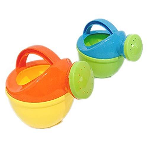 Hilai 1Pc Ungiftiger Gießkanne Spielzeug Qualitäts-Plastik Umwelt Baby-Bad-Spielzeug für Kinder Strand Spielzeug Gießkanne Can Spielzeug (zufällige Farbe)