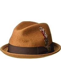 Amazon.it  Brixton - Cappelli Fedora   Cappelli e cappellini ... b55e3799eecf