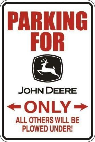 Rebecca Simpson *Aluminum* Parking for John Deere Only 8