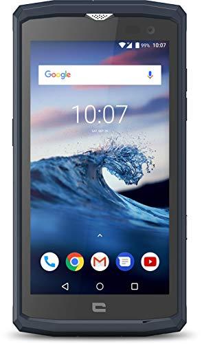 Crosscall Core-X3 Dual SIM Smartphone - deutsche Ware (12,7 cm (5 Zoll), 16GB ROM, 8 MP Kamera, IP68, Android 8.1 Oreo, dunkelblau) Exklusive Amazon Edition inkl. Walther NL20 Taschenlampe