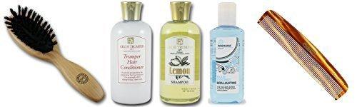 Executive Shaving Complet Soin Des Cheveux Kit Avec Citron shampooing et après-shampooing