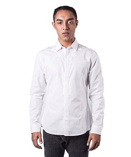 Givenchy -  Camicia classiche  - Uomo bianco Medium