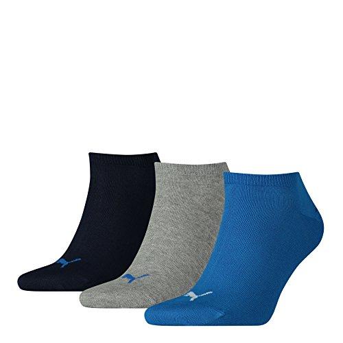 Puma Calza Sneaker Uomo, (Pacco da 3)