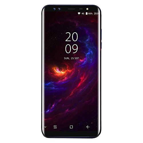 Blackview S8 4G Phablet Smartphone 5 7      18 9  Android 7 0 MTK6750T 1 5GHz Octa Core 4GB RAM 64GB ROM 8 0MP   0 3MP C  maras Delanteras 13 0MP   0