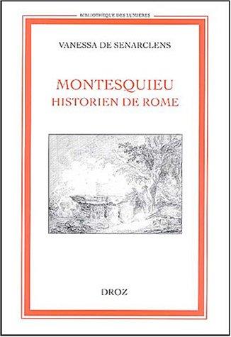 Montesquieu, historien de Rome