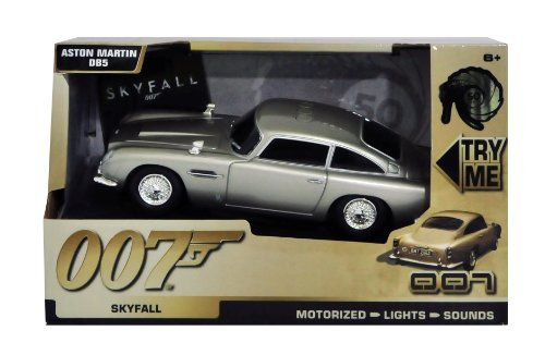 James Bond - Modellino Aston Martin DB5 con luci e suoni