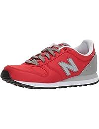 New Balance Chaussures d'athlétisme pour Homme Black/Red - - Marron/Orange, 47 EU