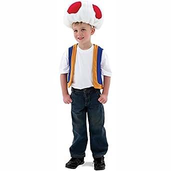 Rubies Costumes 185906 Super Mario Bros - Toad Costume enfant