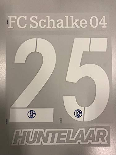 Flock Original Trikot FC Schalke 04 25cm - HUNTELAAR 25