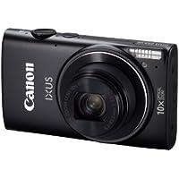 Canon IXUS 255 HS Digital Camera - Black (12.1MP, Wi-Fi, GPS, 10x Optical Zoom) 3.0 inch LCD