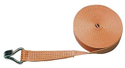 Kerbl 37145 Band für Zurrgurt 37140 50 mm, Zugkraft 4000 kg, Spitzhaken, orange