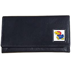NCAA Kansas Jayhawks Women's Leather Wallet