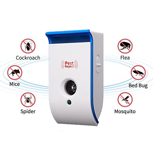Security & Protection Fine Ultrasonic Pest Reject Repeller Control Electronic Pest Reject Repellent Mouse Rodent Cockroach Mosquito Gopher Insect Killer Refreshing And Beneficial To The Eyes Access Control