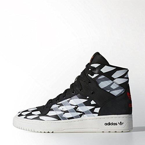 adidas Herren Rivalry Hi Wc cblack/whtvap/ftwwht