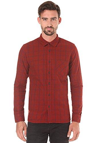 nudie-jeans-henry-flannel-check-herren-flannel-hemd-karohemd-aus-bio-baumwolle-rot-l