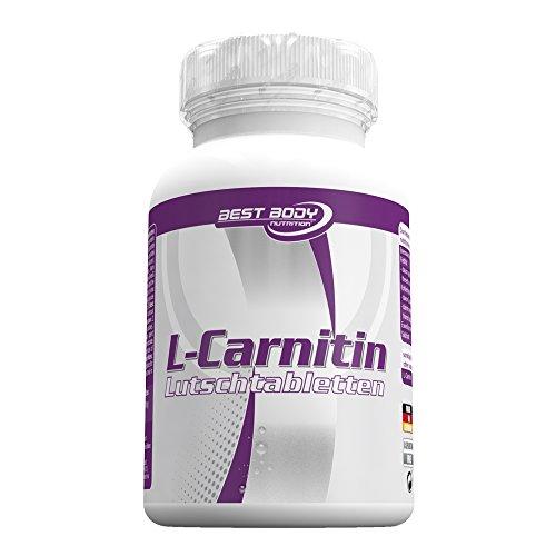Best Body Nutrition L-Carnitin Tabs, 60 Stk Dose (3er Pack)