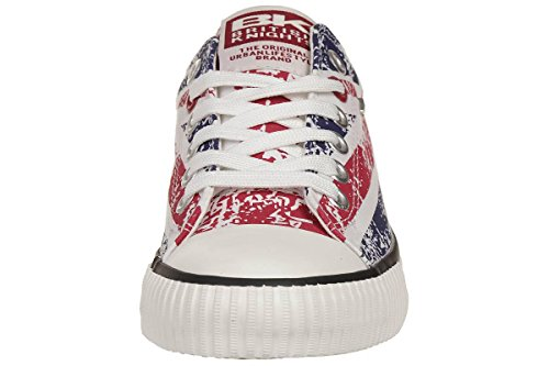British Knights Master Lo, Baskets Basses Homme Rouge