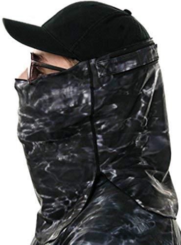 Aqua Design Verstellbarer Größe Face Angeln Jagd Sun Schutz Maske Atmen Löcher Shield Pro + Tube Gr. One Size, Black ()