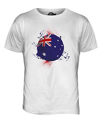 CandyMix Australien Fußball Herren T Shirt Weiß