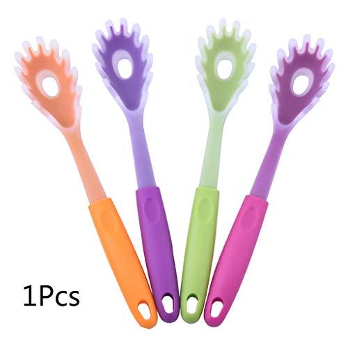 Kathope Praktischer Silikon-Griff für Spaghetti Pasta Nudellöffel Schaufel Sieb Küche Kochen Gadget Werkzeuge (Pasta-sieb Griff)
