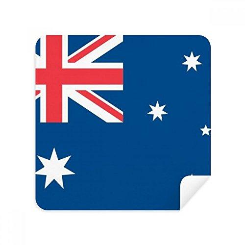 DIYthinker Australien Nationalflagge Ozeanien Land Brillen-Reinigungstuch Telefon Screen Cleaner Suede Fabric 2Pcs