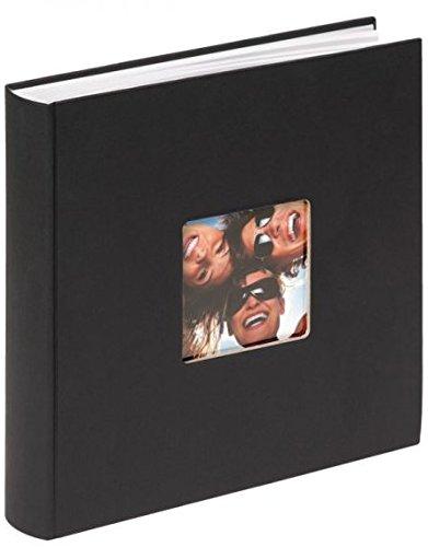 Walther, Fun, Álbum De Fotos, FA-208-B, 30x30 cm, 100 páginas blancas, Negro